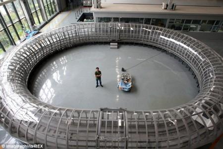 Magnetschwebebahn in Chengdu