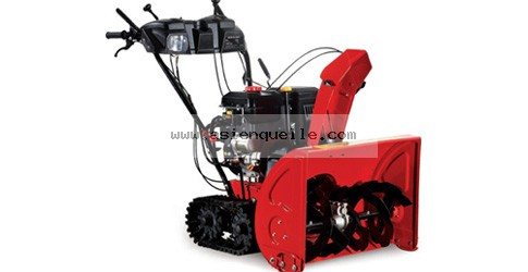 Snow thrower 13 HP with caterpillar drive